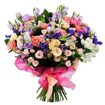 Быстрая доставка свежих цветов